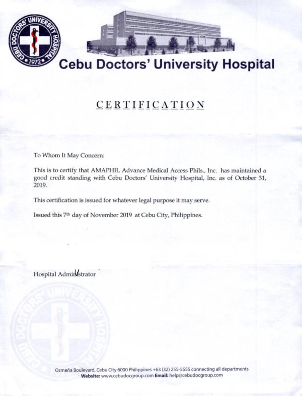 CEBU DOCTORS UNIVERSITY HOSPITAL